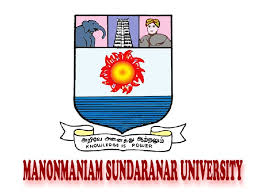 Manonmaniam Sundaranar University result