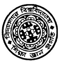 Vidyasagar University MA in Economics with Rural Development Result